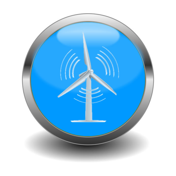 Wind Energy Icon Energy by wind